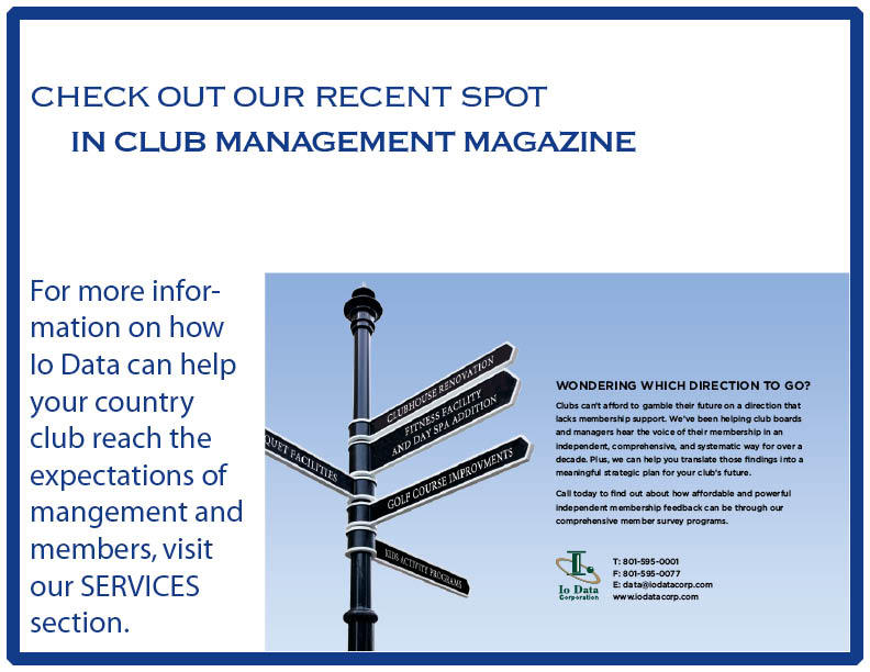 Club Management Magazine Spot